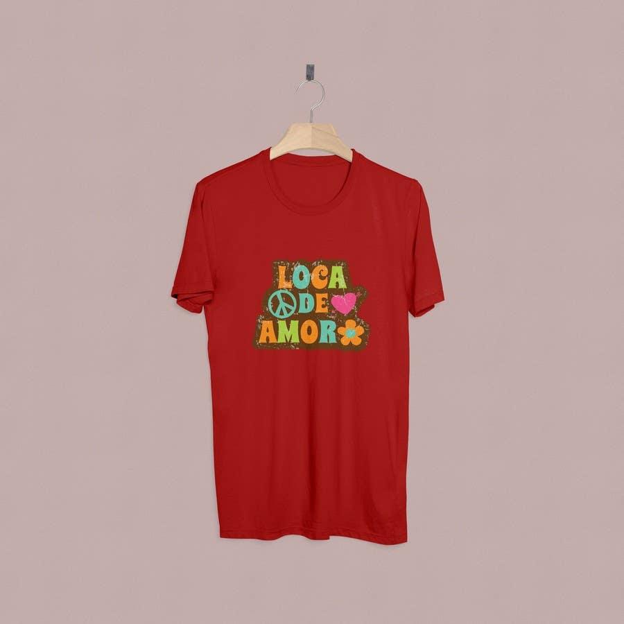 entry 8 by farfalli for design logo for a t shirt freelancer