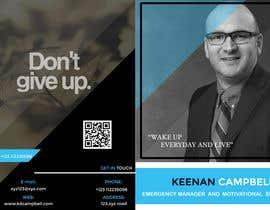 nº 17 pour Design a Brochure for motivational speaker par adarsh2ad