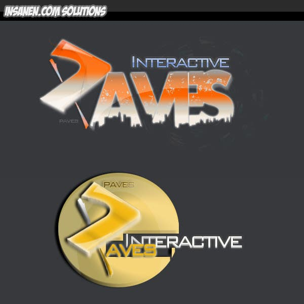 #97 for Logo Design for Paves Interactive by insanenight