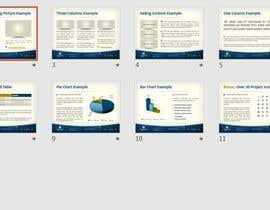 nº 21 pour I need someone to remodel my powerpoint slides par mohmedrashed