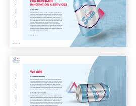 nº 51 pour Creative Website Mockup par pilipenko2001