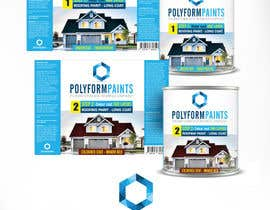 nº 14 pour Paint can label design par GraphicManStudio