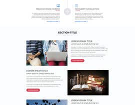 nº 20 pour Design a Website Mockup par aliul