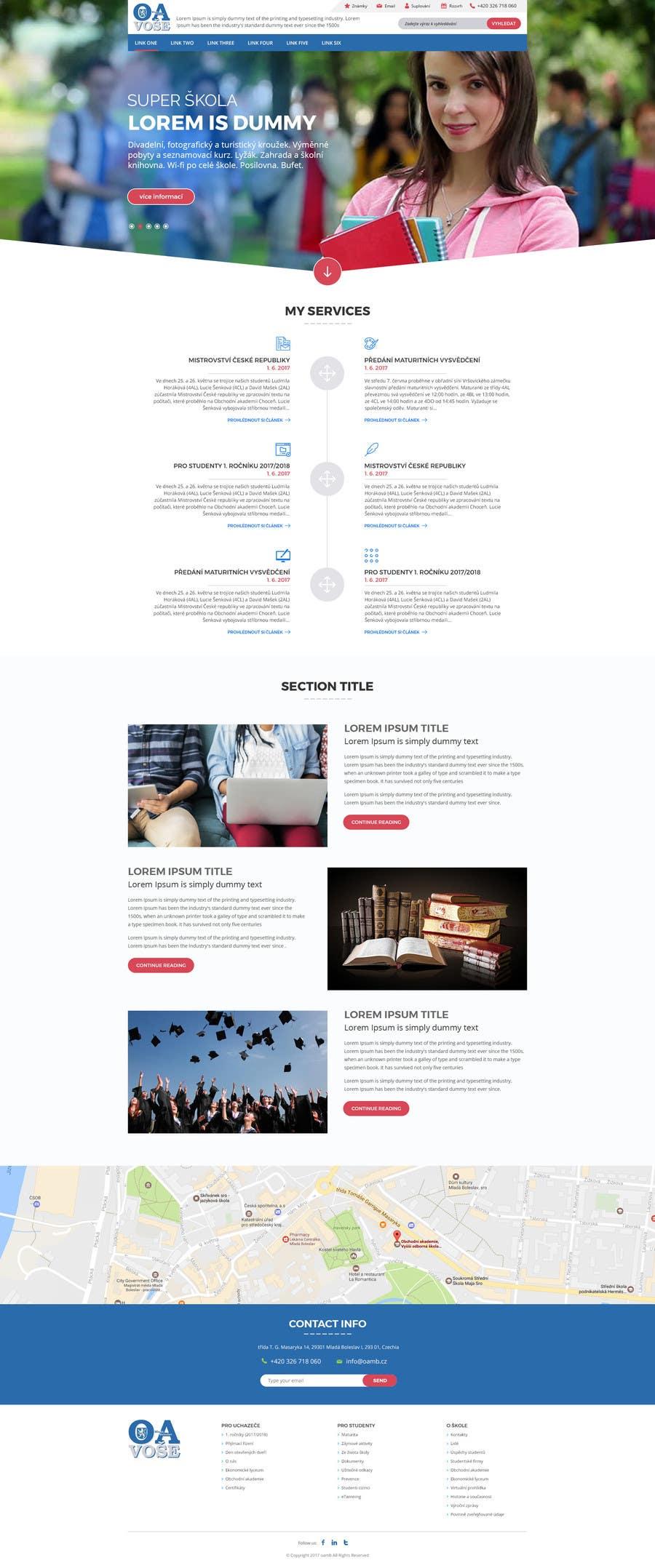 Contest Entry #                                        21                                      for                                         Design a Website Mockup
