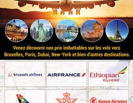 nº 37 pour Flyers for a travel agency par pixelmanager