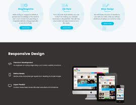 nº 37 pour I would like to hire a Graphic Designer to build a template for a very simple website par hallotofayel