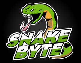 nº 12 pour Snake Byte Gaming Logo par clickswar