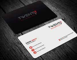 nº 861 pour Design some Business Cards par monira405