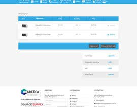 nº 2 pour Re-design basic pages from our website - including checkout, users dashboard and register page par ByteZappers