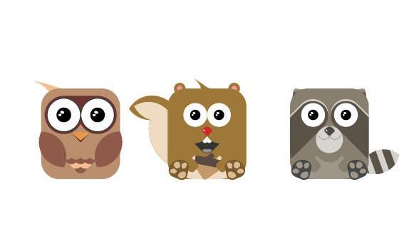 Proposition n°3 du concours Design some logo-based art/animals