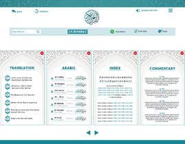 nº 23 pour Design a Website roughly based on the design of an existing app and existing PSD files of that app par SamiraSarwar