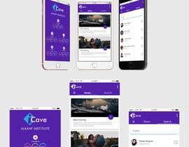 nº 6 pour redesign Mobile Screens par Meetrajsinh