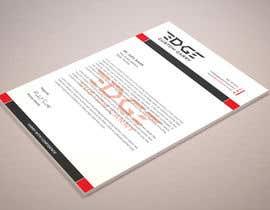 nº 36 pour Design a letterhead par triptigain