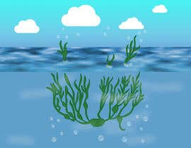 nº 46 pour Quickly need artistic diagram similar to ocean kelp above-below water par vaidehibala