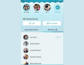 nº 52 pour Design an App Mockup par rezashintia