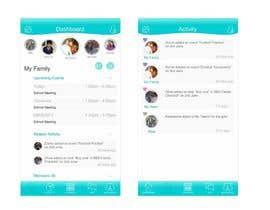nº 39 pour Design an App Mockup par saliyachaminda
