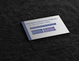 nº 23 pour Design a business card-sized leave behind par jesminnahar69
