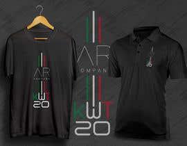 nº 73 pour Design a T-Shirt with brand logos par ANMAgraphics