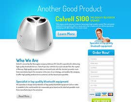 #2 para Website Design for Calvell.com por tania06