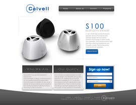 #12 para Website Design for Calvell.com por dendrenal