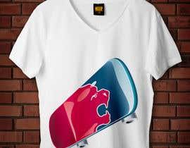 nº 18 pour Skate Related T-shirt design par badreouzzine
