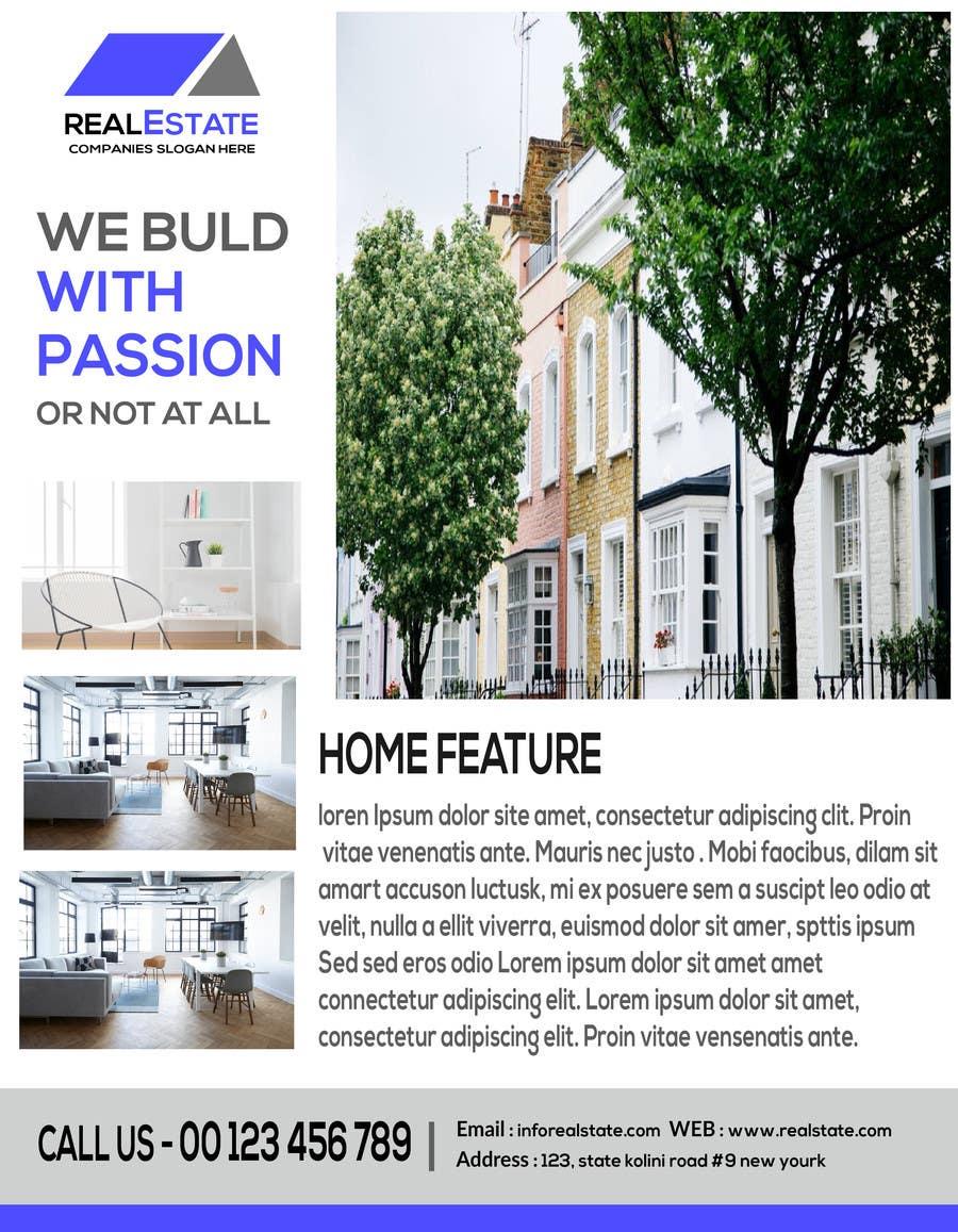 Proposition n°15 du concours Flyer real estate