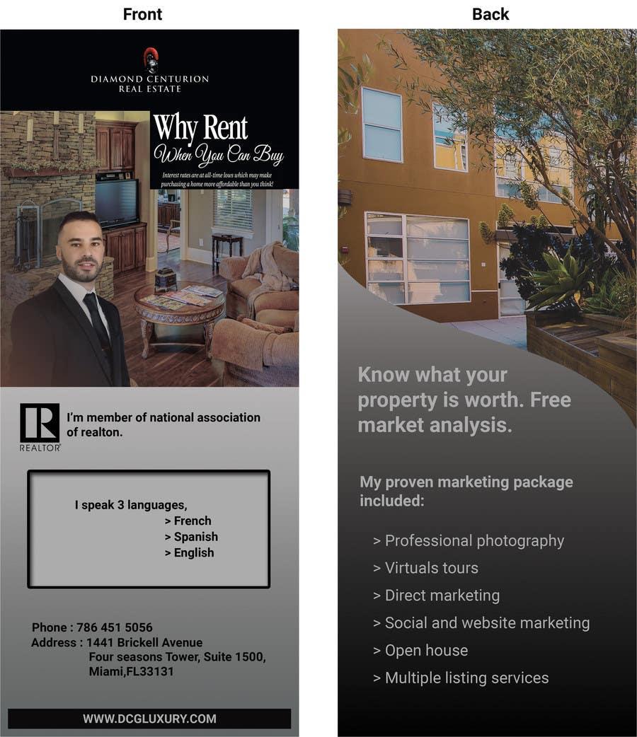 Proposition n°11 du concours Flyer real estate