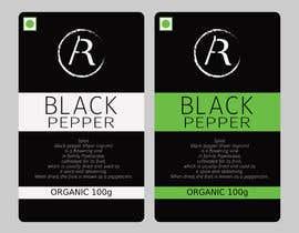 nº 15 pour Beautify the product sticker par OzrenC