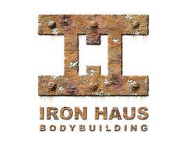 #4 for Logo Design for Iron Haus Bodybuilding af GlenTimms