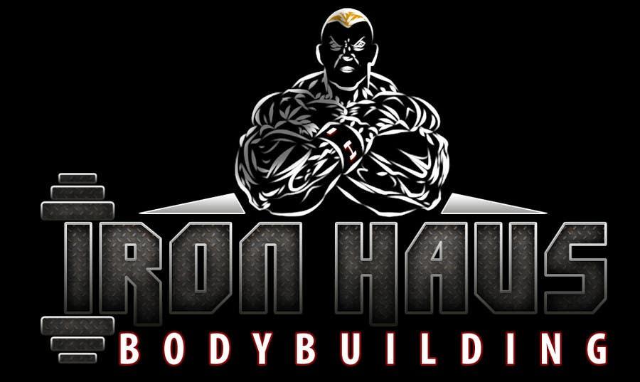 Contest Entry 121 For Logo Design Iron Haus Bodybuilding
