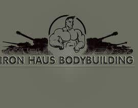 nº 42 pour Logo Design for Iron Haus Bodybuilding par cruentossolum