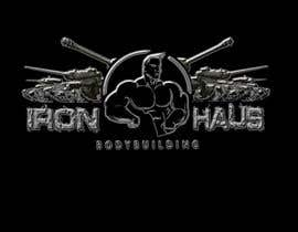 nº 38 pour Logo Design for Iron Haus Bodybuilding par sarah07