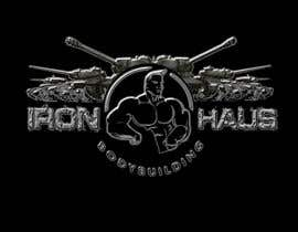 nº 28 pour Logo Design for Iron Haus Bodybuilding par sarah07
