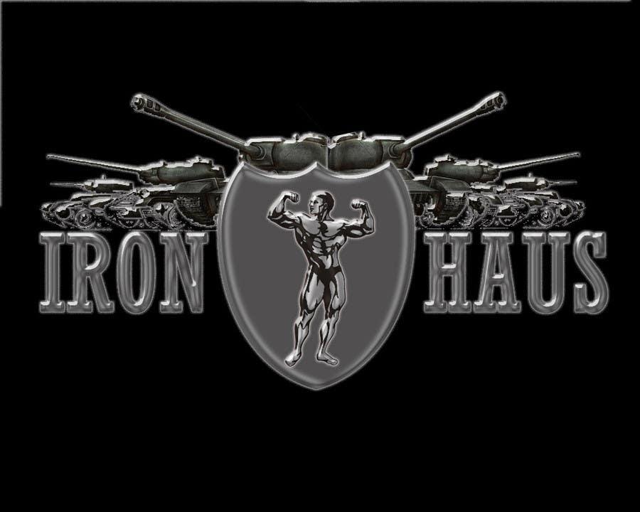 Logo Design Contest Entry #17 for Logo Design for Iron Haus Bodybuilding