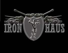 nº 17 pour Logo Design for Iron Haus Bodybuilding par sarah07