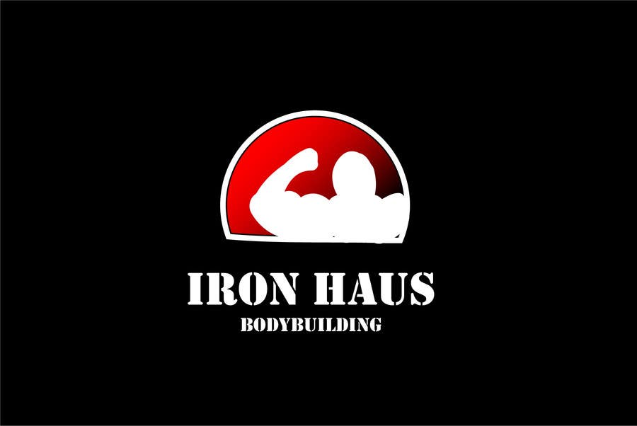 Logo Design for Iron Haus Bodybuilding