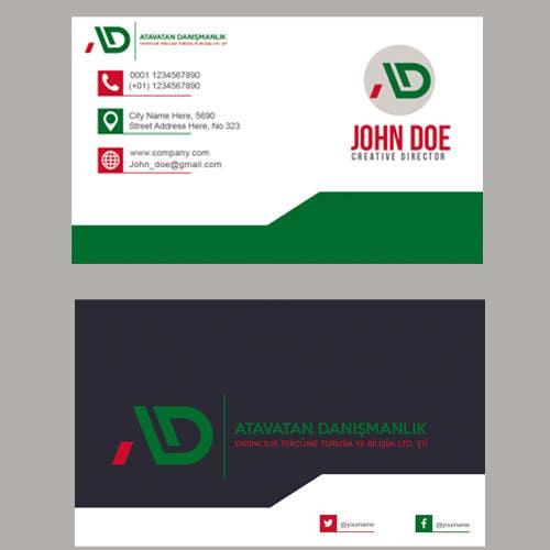 Proposition n°24 du concours Design some Business Cards