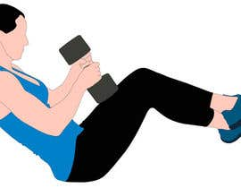 nº 1 pour Female Exercise Illustrations par globalsollx