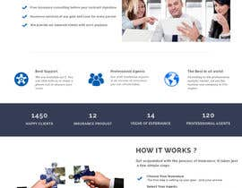 nº 21 pour Design a Website Mockup for an insurance company par gur516