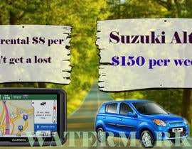 "nº 15 pour Design 2 banners ""Don't get a lost!"" and ""Suzuki Alto $150 per week"" par Sumonrm"