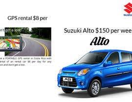 "nº 10 pour Design 2 banners ""Don't get a lost!"" and ""Suzuki Alto $150 per week"" par SHUBONGKAR"