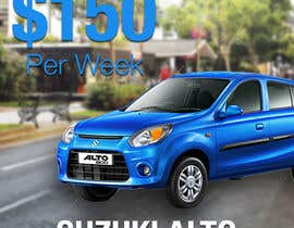 "nº 21 pour Design 2 banners ""Don't get a lost!"" and ""Suzuki Alto $150 per week"" par AleksVM"