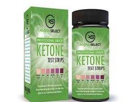 nº 25 pour Create a Label and Packaging  for my ketone test strips product. par imtiazmaruf34