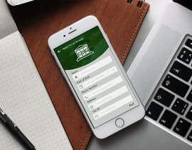 nº 18 pour iOS app mockup par hammadraza06