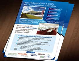 #37 for Business Sustainability Boot Camp - 1 page digital flyer by Jabinhossain