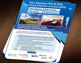 #38 for Business Sustainability Boot Camp - 1 page digital flyer by Jabinhossain