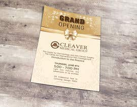 nº 12 pour Grand Opening Flyer par wephicsdesign