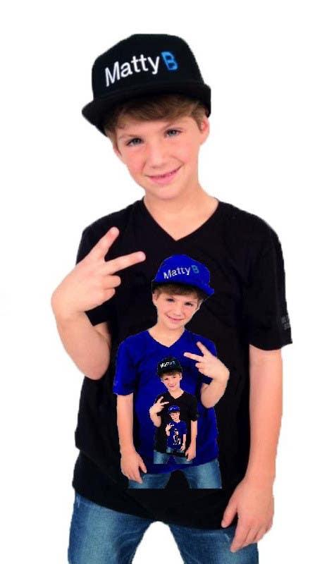 Kilpailutyö #102 kilpailussa Cool T-shirt Design for MattyBRaps