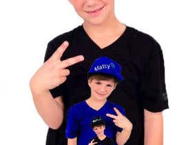 #102 para Cool T-shirt Design for MattyBRaps por electricJolt