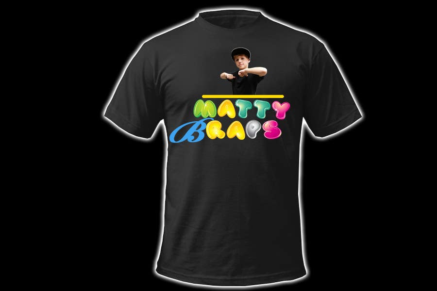 Конкурсная заявка №81 для Cool T-shirt Design for MattyBRaps